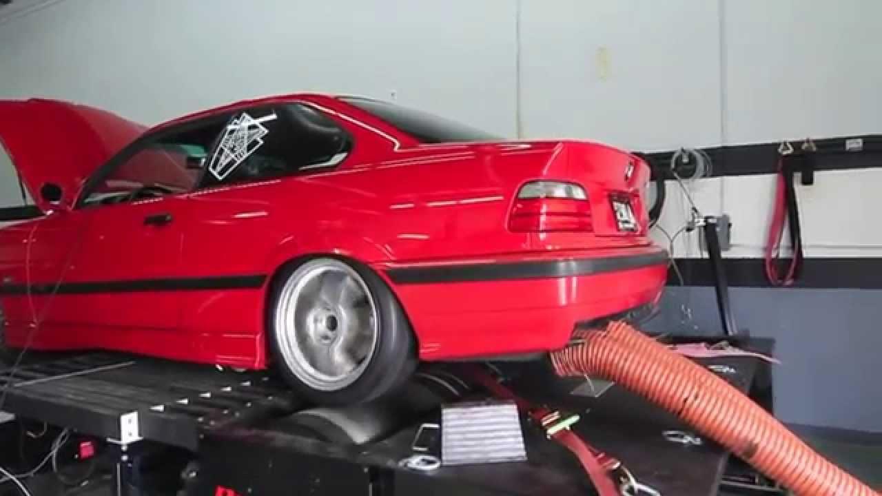 Mishimoto BMW E36 Electric Fan Kit Dyno Testing