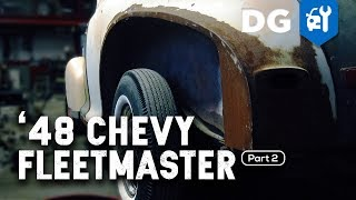 RUST REMOVAL: '48 Chevy Fleetmaster (Part 2)