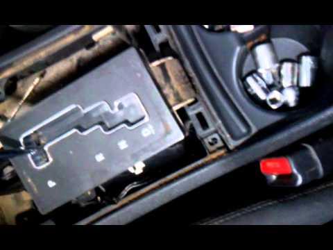 reparando palanca de dodge charger - YouTube