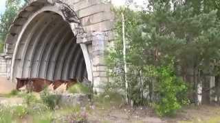 видео Заброшенный военный аэродром в Вещево