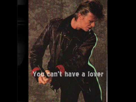 David Bowie - Too Dizzy  1987 :)  (+Lyrics)