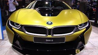 2018 BMW i8 Frozen Yellow - Exterior and Interior Walkaround - 2017 Frankfurt Auto Show