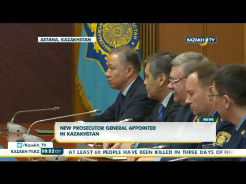 New prosecutor general appointed in Kazakhstan - Kazakh TV