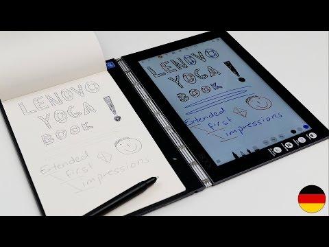 Lenovo Yoga Book | detaillierter Walkthrough & Ersteindruck (deutsch)