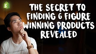 Baixar The Secret To Finding Winning Products Revealed   Shopify Drop shipping 2018