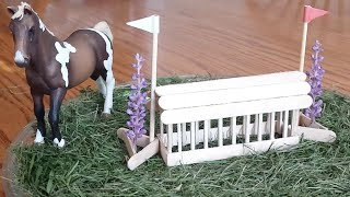 How To Make A Schleich Rabbit Hutch Cross Country Jump