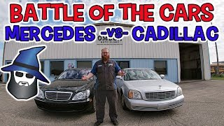 CAR WIZARD's Battle of the Luxury Cars: Mercedes vs Cadillac
