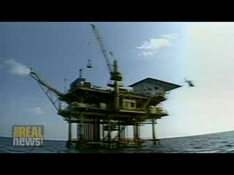 Shock doctrine opens way for oil drilling