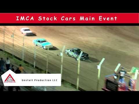 USA Raceway IMCA Stock Car Main July 6 2019