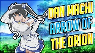 Danmachi arrow of the orion