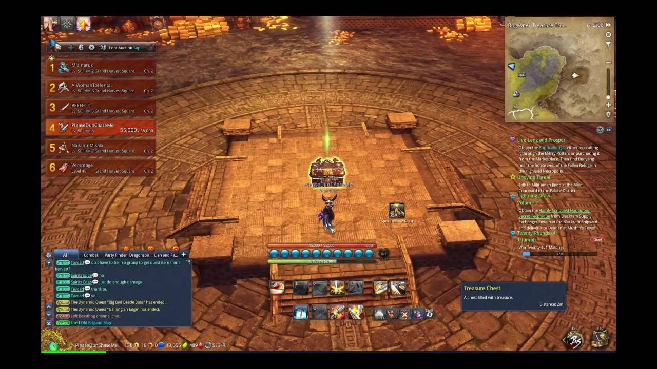 Blade & Soul Tutorial: Beastbog Treasure Room Location NA ...