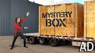 World's BIGGEST MYSTERY BOX Unboxing!