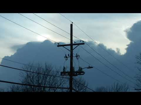 Crazy sky phenomena Raytown MO 4-13-18