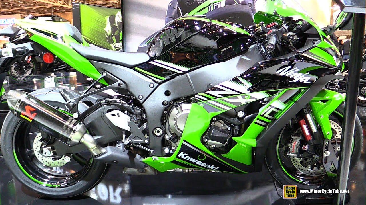 2016 kawasaki ninja zx10r abs walkaround 2015 salon de la moto paris youtube. Black Bedroom Furniture Sets. Home Design Ideas