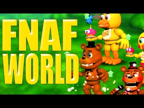 CUTEST GAME EVER!! - FNAF World - Part 1 (Five Nights At Freddy's)