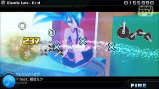 Project Diva PC (GamePlay Eletric Love)