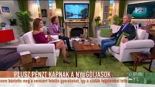 Már novemberben érkezik a nyugdíjprémium! - tv2.hu/mokka