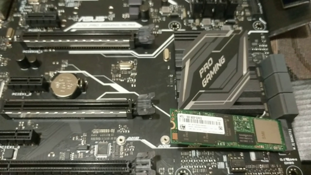 how to install m 2 ssd solid state hard drive on asus z170 pro motherboard youtube. Black Bedroom Furniture Sets. Home Design Ideas