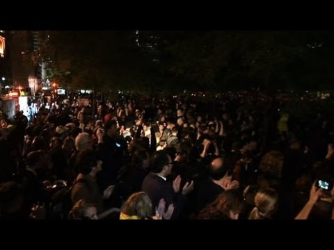 Occupy Wall St. Defeats NYC Eviction Attempt