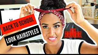 BACK TO SCHOOL LOOK 2018 | Haarstijlen