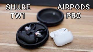 Shure True Wireless vs AirPods Pro