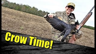 Crow Hunting:  How to Set-up, Call, & Clean