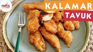 Çıtır Tavuk Kalamar Tarifi - Tavuk Yemekleri - Nefis Yemek Tarifleri