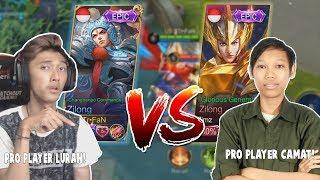 ZILONG EPIC VS ZILONG EPIC WADUH! GG - Mobile Legend Indonesia