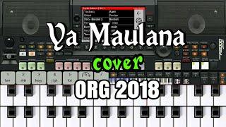 Ya Maulana - Nissa Sabyan versi Dangdut cover ORG 2018 (tutorial piano keyboard)