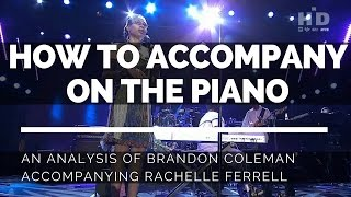 """How to accompany on the piano 