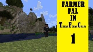 Farmer Fal in Terrafirmacraft - Episode 1 - Glitchy food