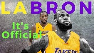 Lebron James sa Los Angeles Lakers: Susunod ba si Kawhi?