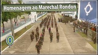 Batalhão Escola de Comunicações sedia homenagem ao Marechal Rondon