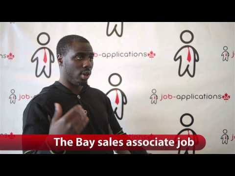 The Bay Sales Associate Job