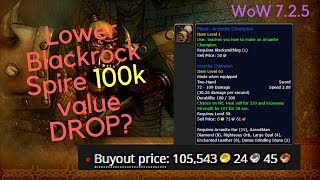 WoW Gold farm - 100k Lower BRS drop(transmog+recipe)