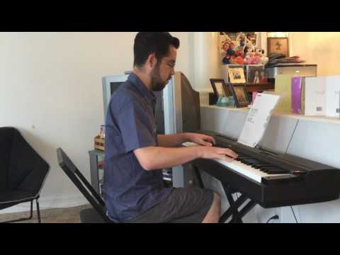 Soarin' Around the World on piano - early attempt