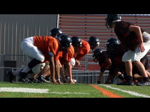 Summer is football time at Osseo