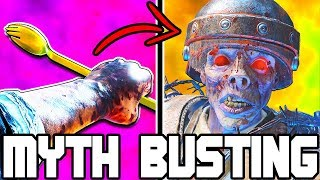 CAN YOU DOWN SUPER BRUTUS WITH THE GOLDEN SPORK?? // BLACK OPS 4 ZOMBIES // MYTH BUSTING MONDAYS #11