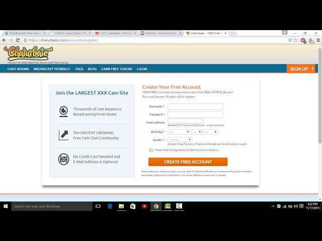 How to get unbanned on chaturbate 100% working (Easiest) 2016