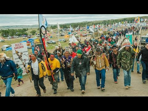 Civil liberties group suing DAPL company over treaty land construction