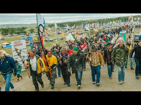 Civil liberties group suing DAPL company over treaty land construction