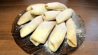 Бармак - татарское печенье с грецкими орехами. Рецепт к чаю