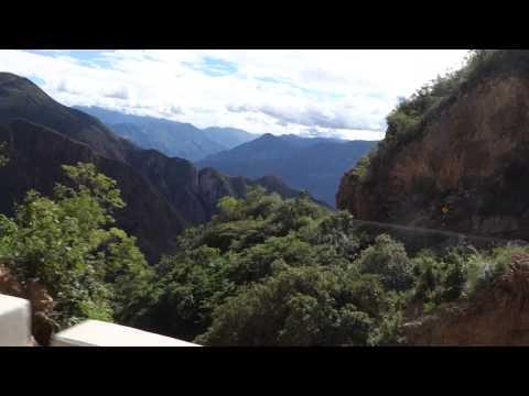 Driving at 5000m in Peru