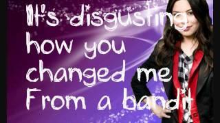 Miranda Cosgrove - Disgusting (lyrics video)