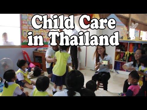 Nursery School in Thailand. Ananda's First Days at Kindergarten