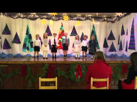 Christmas Program - Cedarcroft School - It's The Most Wonderful Time of the Year
