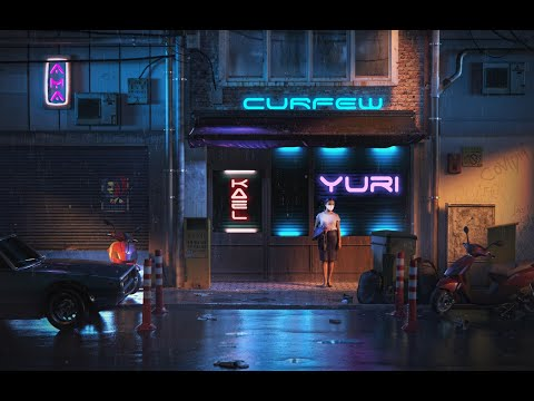 Curfew - Kael Ama feat Yuri Dope Lyric