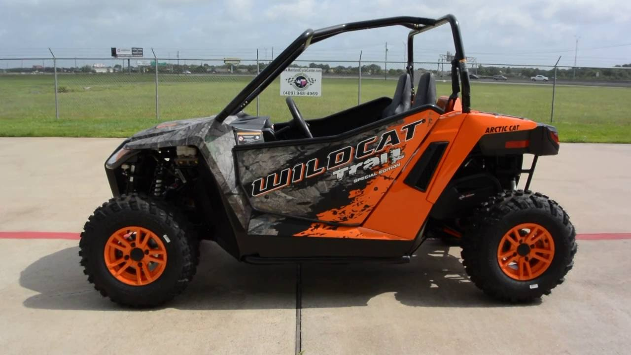 Arctic Cat Wildcat Trail Limited For Sale