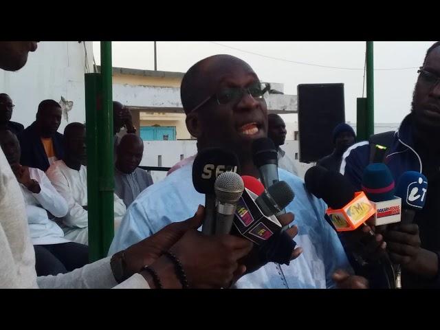Abdoulaye Diouf Sarr révéle  ses relations personnelles avec  le ministre Alioune Ndoye