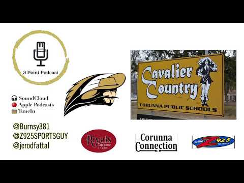 3 Point Podcast on Corunna High School Sports Hall of Fame